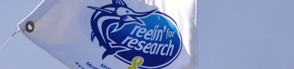 reeling for research flag